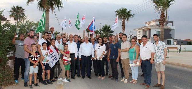 Beyarmudu'ndan Akmercan'a tam destek