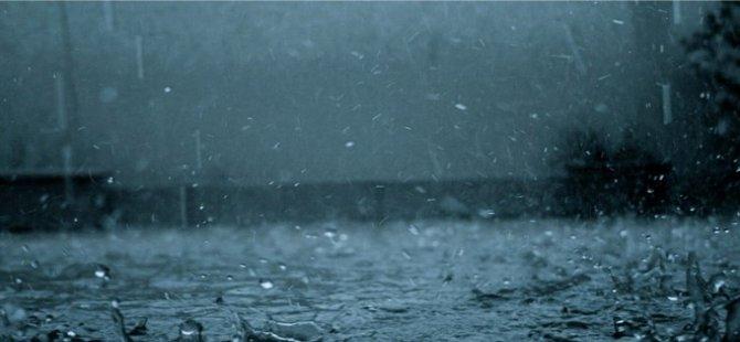 En fazla yağış Akdoğan'a düştü