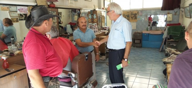 Bican, Güzelyurt'taki İsmet Paşa ve Lala Mustafa Paşa mahalleleri ile Yuvacık'ı ziyaret etti