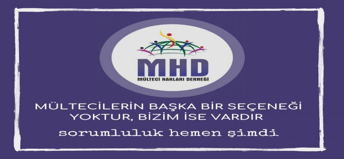 """MHD: """"İnsanlığın girdiği kriz gün geçtikçe derinleşiyor"""""""