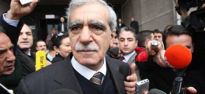 """Ahmet Türk: """"İnce'nin söylemi CHP'ye mesafeyi azalttı"""""""