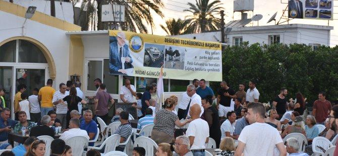 Güngördü, Ozanköy'de miting düzenledi