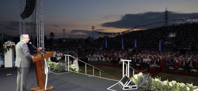Cumhurbaşkanı Akıncı DAÜ mezuniyet törenine katıldı