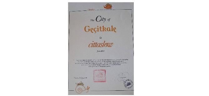 Geçitkale'nin Cittaslow ağına dahil olduğu açıklandı