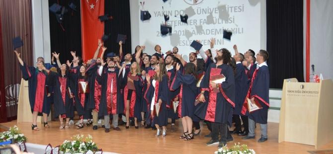 YDÜ Veteriner Hekimliği Fakültesi Mezuniyet Töreni Gerçekleştirildi