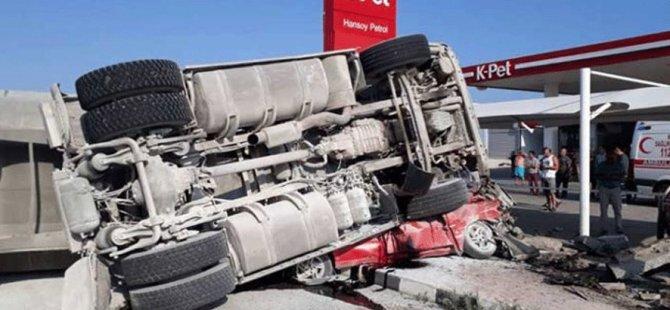 İskele'deki kazada gelişme... Kamyon şoförü cezaevine gönderildi