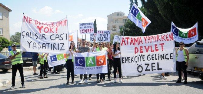 Başbakanlık önündeki eylem sonlandırıldı