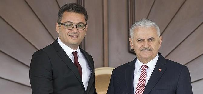 Başbakan Erhürman, Türkiye Başbakanı Yıldırım'ı kutladı