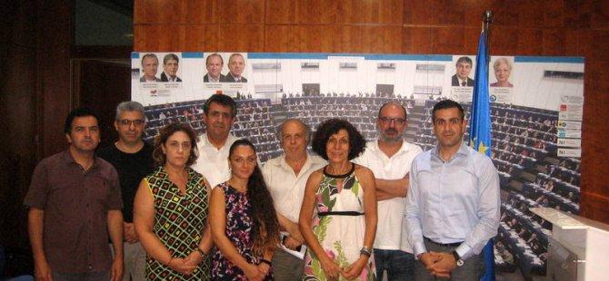 Birleşik Kıbrıs-İki Toplumlu Barış İnisiyatifi, AP Kıbrıs Ofisi Başkanı'nı ziyaret etti