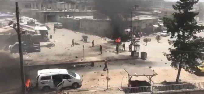 Son Dakika: Afrin'de bomba yüklü 2 araçla terör saldırısı: 10 sivil öldü