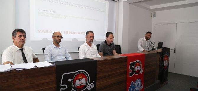 KTÖS eğitimle ilgili önerilerini basın toplantısıyla paylaştı