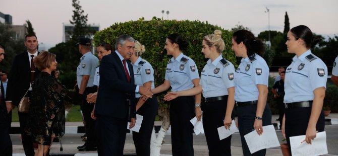 Polis örgütünün 54. kuruluş yıldönümü resepsiyonla kutlandı