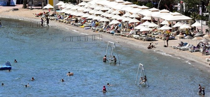 Türkiye'nin Güney Ege sahilleri giderek doluyor