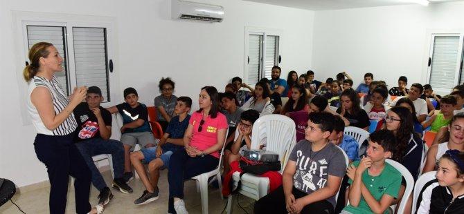 Gençlik Dairesi Kantara Yaz Kampları başladı