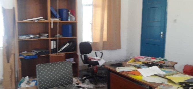 Vandallık! Karpaz Dostları Dernek binası tahrip edildi