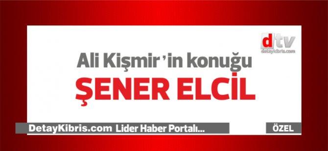 """Ali Kişmir'in konuğu KTÖS Genel Sekreteri Şener Elcil, gündem """"Vatandaşlıklar"""""""
