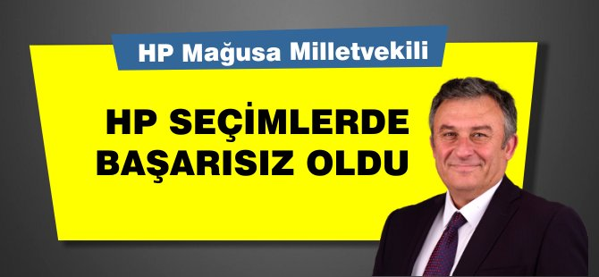 HP Milletvekili Topal: Yerel seçimlerde başarısız olduk!