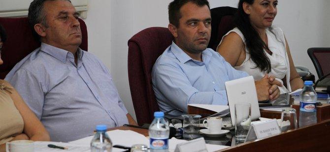 İdari kamu ve sağlık işleri komitesi toplandı