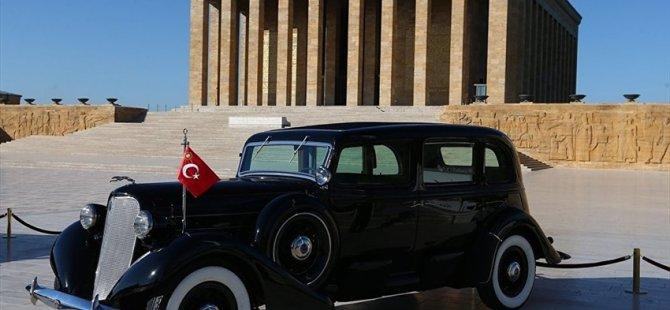 Atatürk'ün otomobilinin restorasyonu tamamlandı