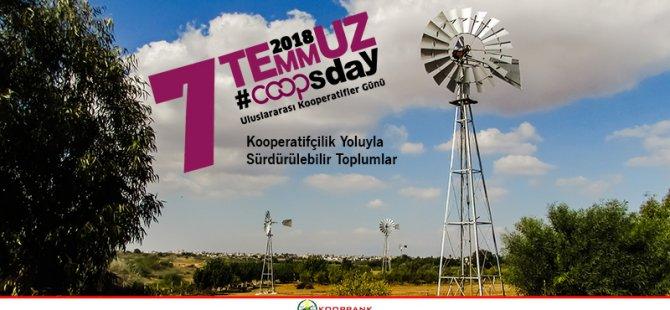Koopbank Uluslararası Kooperatifler Günü'nü Kutluyor