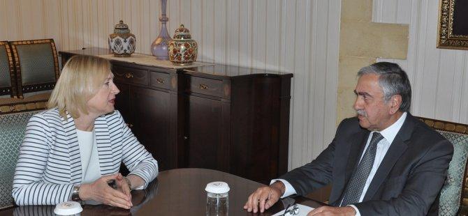 Akıncı BM temsilcisi Spehar'ı kabul etti