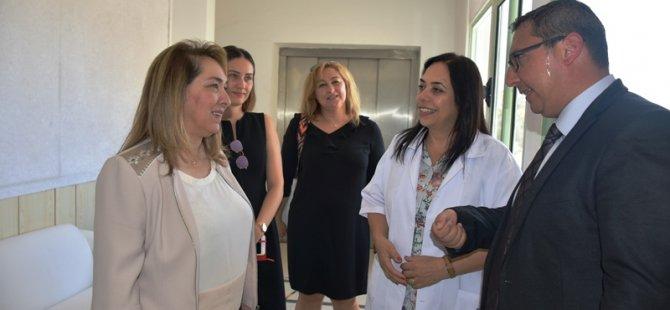 Besim GAZİMAĞUSA'daki özel hastaneleri ziyaret etti
