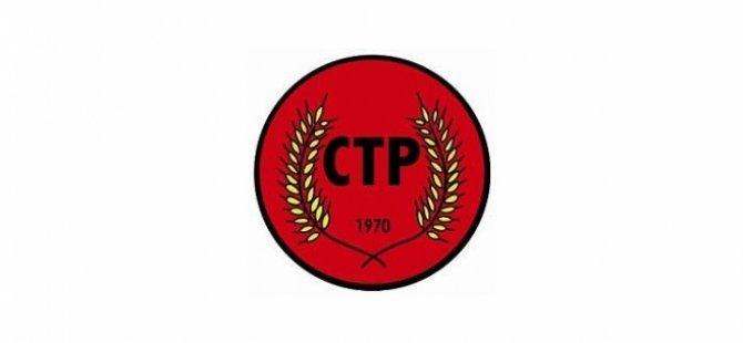 CTP Lute'un gelişini selamladı ve çözüm konusunda kararlılık belirtti