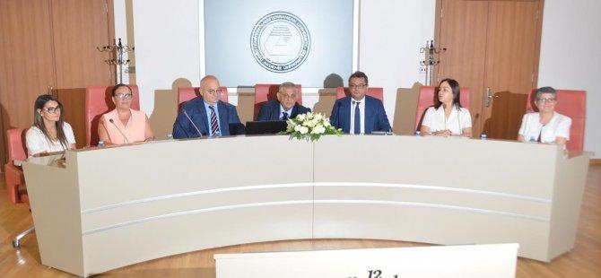 KKTC Başbakanı Tufan Erhürman DAÜ'yü ziyaret etti