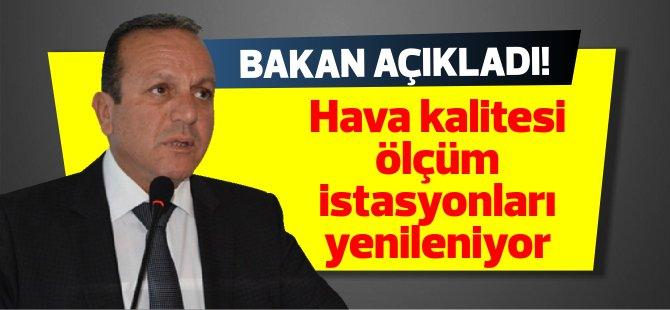 """Ataoğlu: """"Hava kalitesi ölçüm istasyonları yenileniyor"""""""