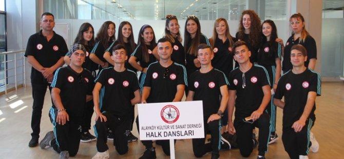 """AKSD, Yalova'da """"Tufag uluslararası halk dansları festivali""""ne katıldı"""