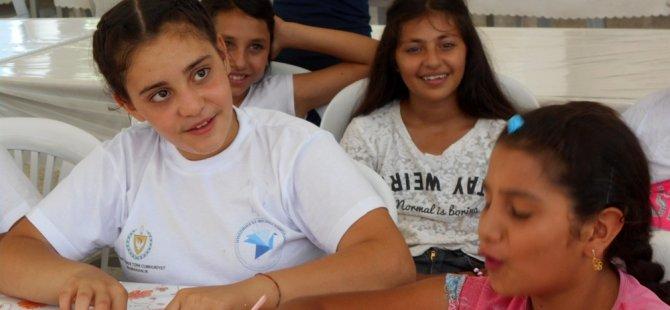 Destek programında yer alan çocuklar için yaz okulu