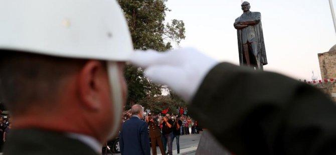 T.C. Cumhurbaşkanı Erdoğan'ın Kıbrıs ziyareti tamamlandı