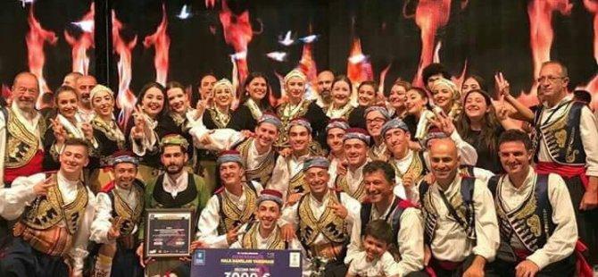 KKTC ekibi Fogem, Bursa'da uluslararası Altın Karagöz halk DANSLARI yarışması'nda ikinciliği Kazandı