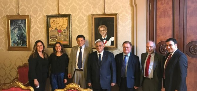 DAÜ ile Bologna Üniversitesi arasında yeni bir iş birliği protokolü daha imzalandı