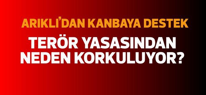 YDP Başkanı Arıklı: Terör yasasından neden korkuluyor?