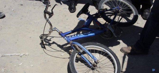 Bisiklet sürücüsü yoğum bakımda
