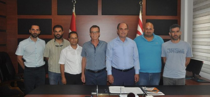 Elektrik Müteahhitleri Birliği'nden Karavezirler'e ziyaret