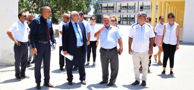 İskele Türk Maarif Koleji'nin yapimina başlayacağiz