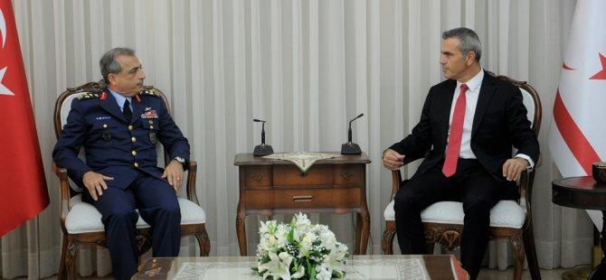 Uluçay, TSK temsilcisi ORG.Atilla Gülan'ı kabul etti