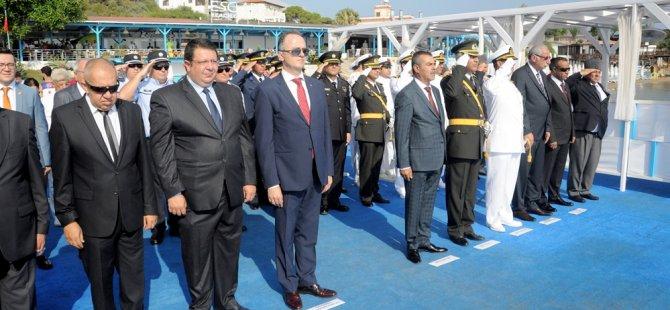 Yavuz Çıkarma Plajı'nda tören düzenlendi