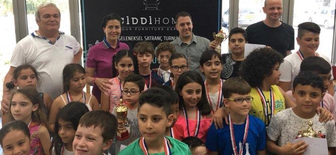 Ciddi Home Center Ödüllü Satranç Turnuvasında Şampiyonlar İrfanoğlu Atasoy ve Antel