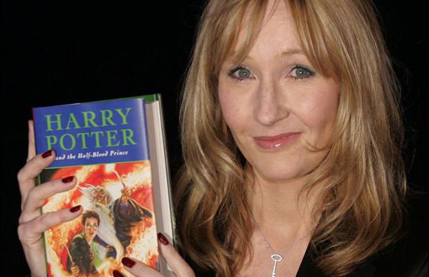 Harry Potter yazarının sırrı