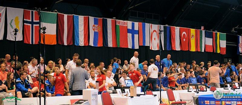 Avrupa bilardo şampiyonasında KKTC Yunanistan ile eşleşti