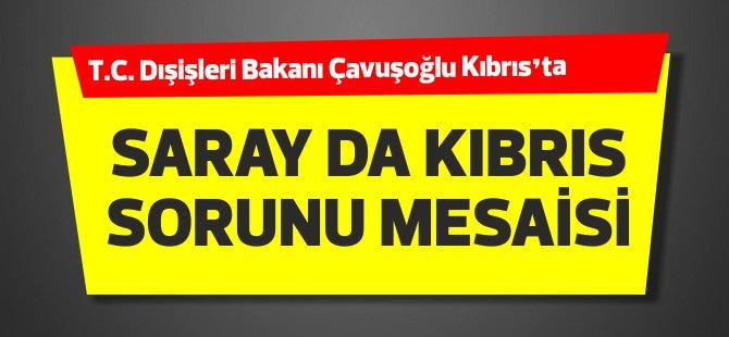 """Saray'da """"Kıbrıs Sorunu"""" mesaisi"""