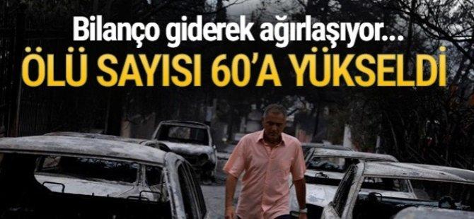 Yunanistan yangını... 49 Ölü, 156 yaralı