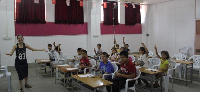 LTB'den Surlariçi'ndeki çocuklara yönelik ingilizce kursları için ilk zil çaldı