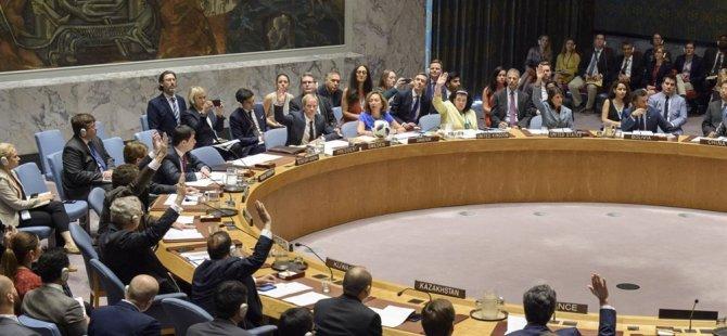 """BM güvenlik konseyi'nden Kıbrıs'ta """"Sürecin hızlandırılması"""" çağrısı"""