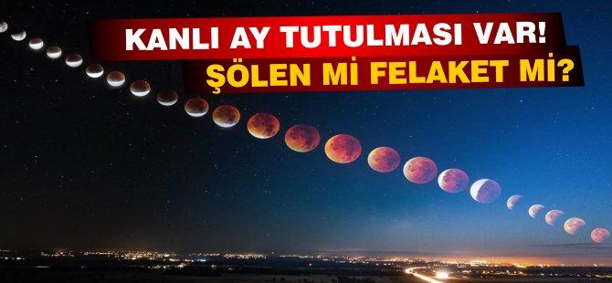Kanlı Ay Tutulması nedir? Kıbrıs'ta ne zaman başlayacak? Nerelerden izlenebilir?