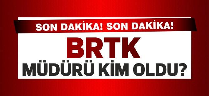 BRTK yeni Müdürü görevini başladı