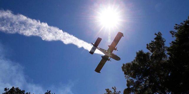 Güney'e yangınla mücadele için iki uçak